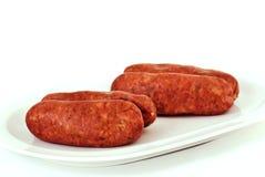 Salsiccia Yummy immagini stock libere da diritti