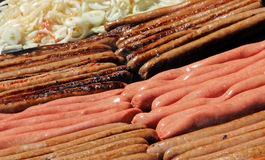 Salsiccie Fotografie Stock