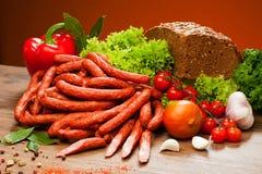 Salsiccie Immagine Stock