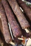 Salsiccie Immagini Stock Libere da Diritti