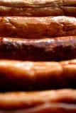 Salsiccie Fotografia Stock Libera da Diritti