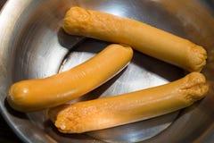 Salsiccie al forno Immagine Stock