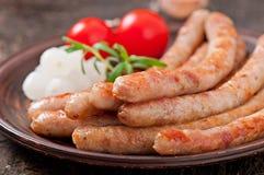 Salsiccie arrostite Immagine Stock