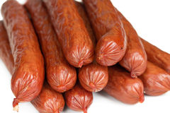 Salsiccie bavaresi immagini stock libere da diritti