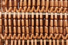 Salsiccie casalinghe immagini stock