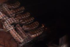 Salsiccie cotte Immagine Stock Libera da Diritti