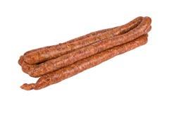 Salsiccie crude fresche Immagine Stock Libera da Diritti