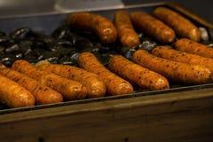 Salsiccie deliziose cinesi immagine stock