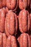 Salsiccie fresche Immagine Stock Libera da Diritti