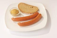 Salsiccie - Wuestel Fotografia Stock Libera da Diritti