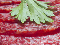 Salsicha Foto de Stock