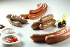 Salsicha Imagem de Stock