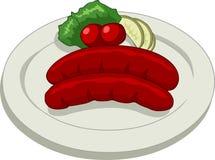 Salsicha Imagens de Stock Royalty Free