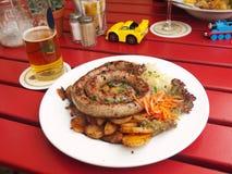Salsicha alemão Foto de Stock