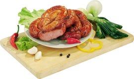 Salsicha apetitosa Fotos de Stock