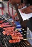 Salsicha assada de Formosa imagem de stock royalty free
