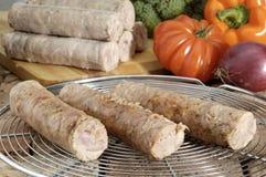 Salsicha de Andouillette Imagem de Stock Royalty Free