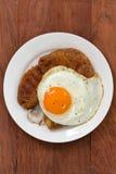 Salsicha de Fried Smoked Imagem de Stock Royalty Free