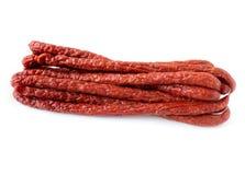 Salsicha de Kabanos Imagens de Stock