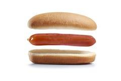 Salsicha do pão Foto de Stock Royalty Free