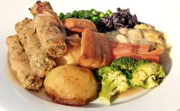Salsicha do vegetariano Imagens de Stock Royalty Free