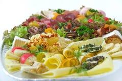 Salsicha e queijo. Foto de Stock Royalty Free