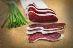 Salsicha francesa com ervas Foto de Stock Royalty Free