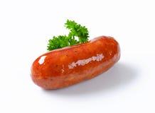 Salsicha fritada bandeja Foto de Stock