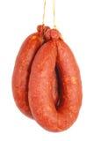 Salsicha fumada Imagem de Stock