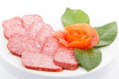 Salsicha fumada Foto de Stock