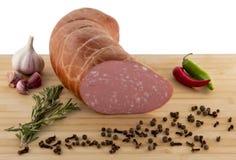 Salsicha grande Fotografia de Stock
