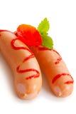 Salsicha pequena Imagem de Stock