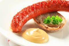 Salsicha picante seca Imagem de Stock