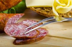 Salsicha polonesa Imagem de Stock Royalty Free