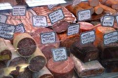 Salsicha secada Imagem de Stock Royalty Free
