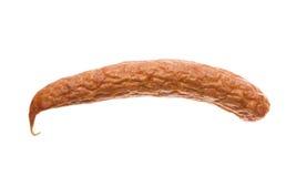 Salsicha secada imagem de stock