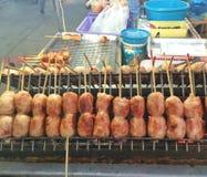 Salsicha tailandesa Foto de Stock