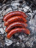Salsichas Imagens de Stock Royalty Free