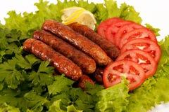 Salsichas Fotografia de Stock