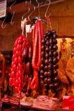 Salsichas Fotografia de Stock Royalty Free