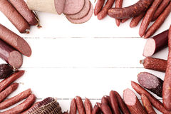 Salsichas imagens de stock