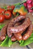 Salsichas Imagem de Stock Royalty Free