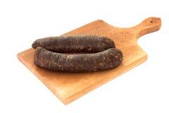 Salsichas cruas Imagem de Stock