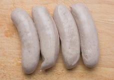 Salsichas da bratwurst Fotografia de Stock