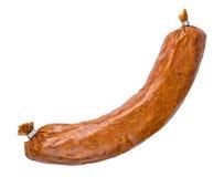 Salsichas de carne de porco fumado imagens de stock royalty free