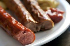 Salsichas de Francoforte foto de stock royalty free