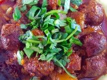 Salsichas de Goa - choriso Fotos de Stock Royalty Free