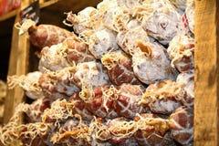 Salsichas francesas Fotografia de Stock Royalty Free
