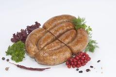 Salsichas fumado (salsicha) Foto de Stock Royalty Free