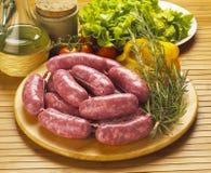 Salsichas italianas imagem de stock